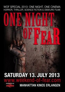 Das Weekend Of Fear Special 2013